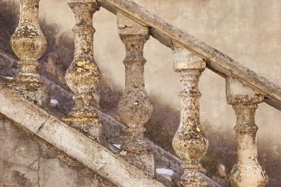 Stone Balusters, Staircase Leading to Home in Greoux-Les-Bains, Provence, France-Brian Jannsen-Photographic Print