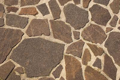 Stone Floor Background- Alberto SevenOnSeven-Photographic Print