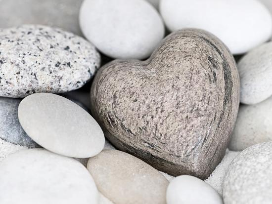 Stone Heart-Lebens Art-Art Print