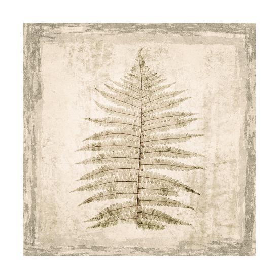 Stone Leaf I-Irena Orlov-Art Print