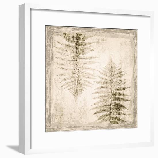 Stone Leaf II-Irena Orlov-Framed Art Print