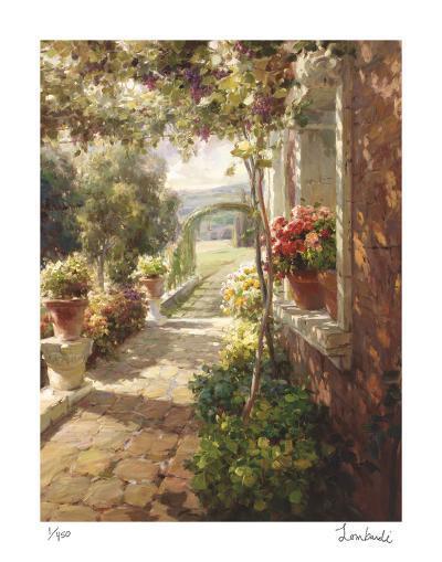 Stone Path-Roberto Lombardi-Giclee Print