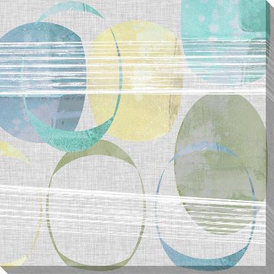 Stone Pattern I-Jennifer Goldberger-Stretched Canvas Print