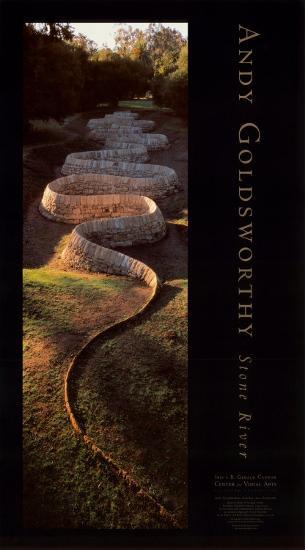 Stone River-Andy Goldsworthy-Art Print