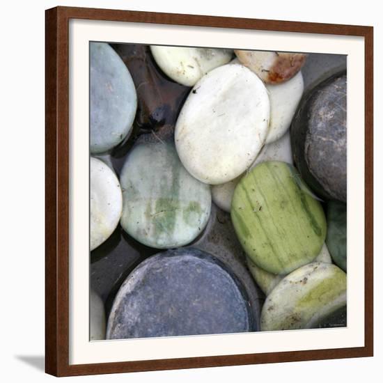 Stone Serenity II-Nicole Katano-Framed Art Print