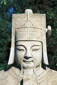Stone Statue Along the Sacred Way Leading to the Ming Dynasty Tombs (Unesco World Heritage List
