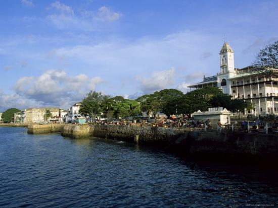 stone town island of zanzibar tanzania east africa africa