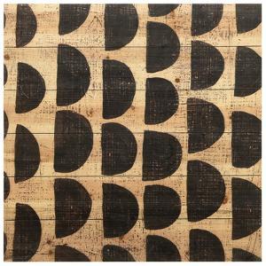 """Stone V"" Arte de Legno Digital Print on Solid Wood Wall Art"