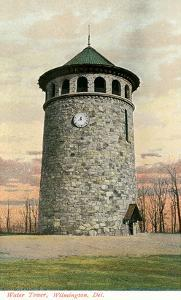 Stone Water Tower, Wilmington, Delaware