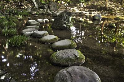 Stone Zen Path-Fyletto-Photographic Print