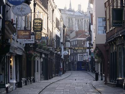 Stonegate, York, Yorkshire, England, United Kingdom-Adam Woolfitt-Photographic Print
