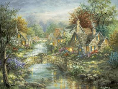 Stonehedge Bridge-Nicky Boehme-Giclee Print