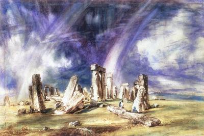 Stonehenge, C1835-John Constable-Giclee Print