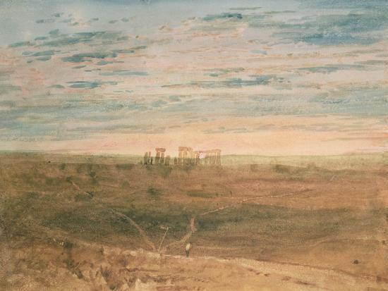 Stonehenge-J^ M^ W^ Turner-Giclee Print