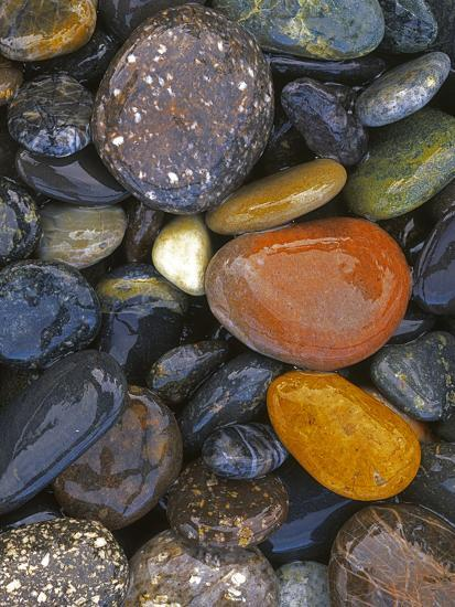 Stones, Lopez Island, Agate Beach County, Washington, USA-Charles Gurche-Photographic Print