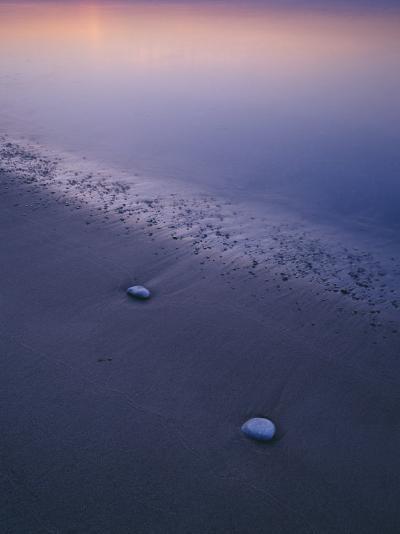 Stones on a Beach--Photographic Print