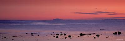 Stones on the Beach, Snaefellsjokull, Snaefellsnes Peninsula, Iceland--Photographic Print