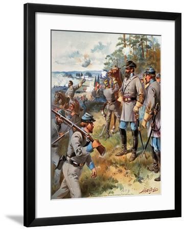 Stonewall Jackson, 1861--Framed Giclee Print