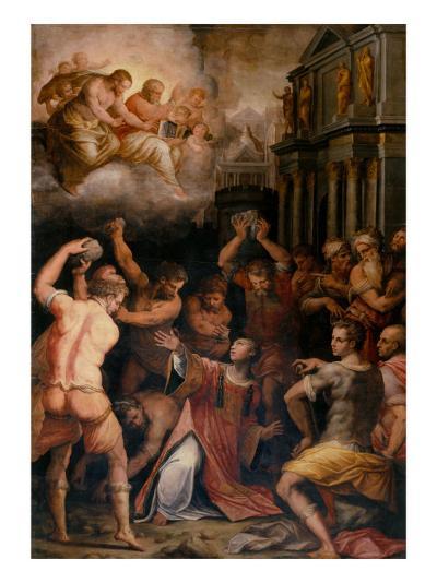Stoning of St. Stephen, 1571-Giorgio Vasari-Giclee Print