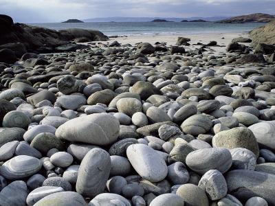 Stony Beach on Knoydart Peninsula, Western Scotland-Pete Cairns-Photographic Print