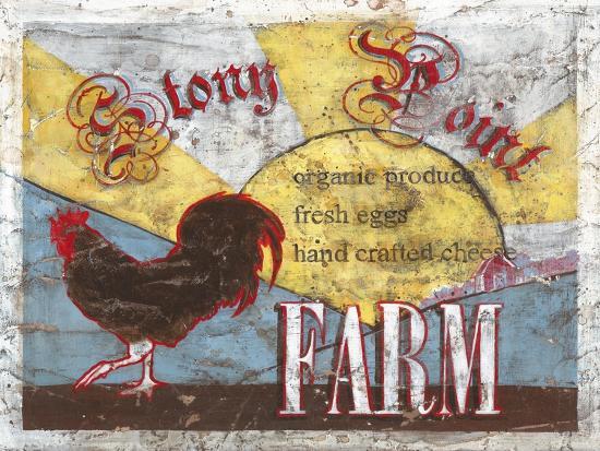 Stony Point Farm-Catherine Jones-Art Print