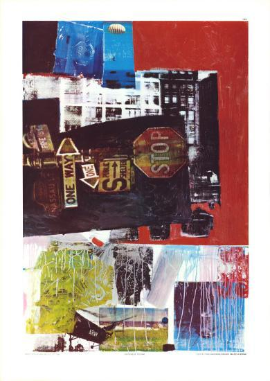 Stop, 1963-Robert Rauschenberg-Collectable Print