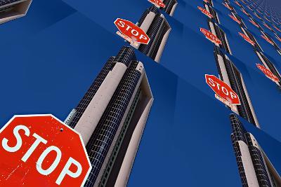Stop 2-Ursula Abresch-Photographic Print