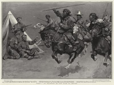 Stop!, an Incident on the Road to Lhassa-William T^ Maud-Giclee Print