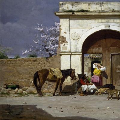 Stop in Sardinia-Giovanni Battista Tiepolo-Giclee Print