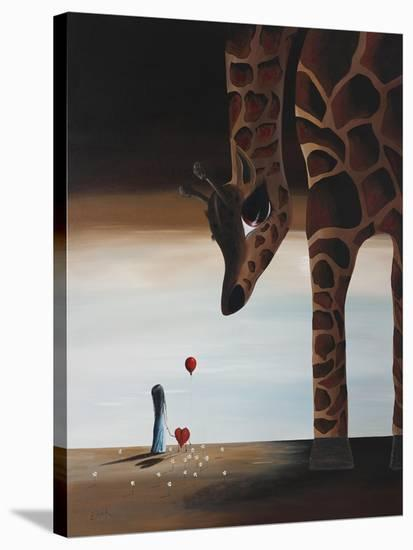 Stop to Love-Shawna Erback-Stretched Canvas Print