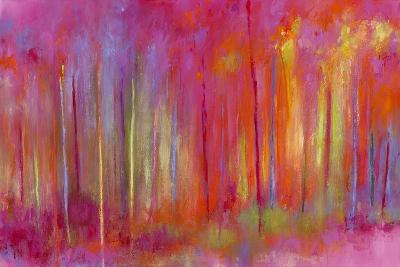 Stopping by Woods to Celebrate-Janet Bothne-Art Print