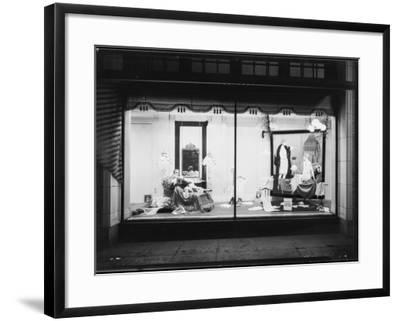 Store Window--Framed Photographic Print