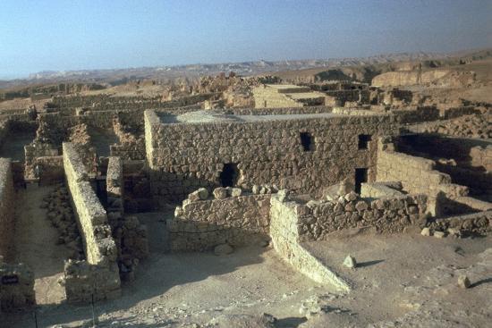 Storerooms in Masada, 1st century-Unknown-Photographic Print