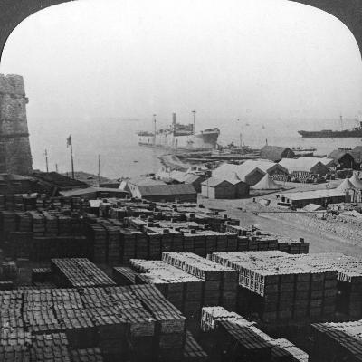 Stores at Sedd El Bahr, Gallipoli, Turkey, World War I, 1915--Photographic Print