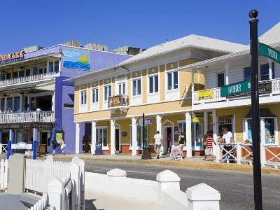 Stores on Harbour Drive, George Town, Grand Cayman, Cayman Islands, Greater Antilles, West Indies-Richard Cummins-Photographic Print