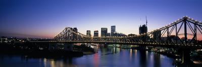 Storey Bridge, Brisbane, Australia--Photographic Print