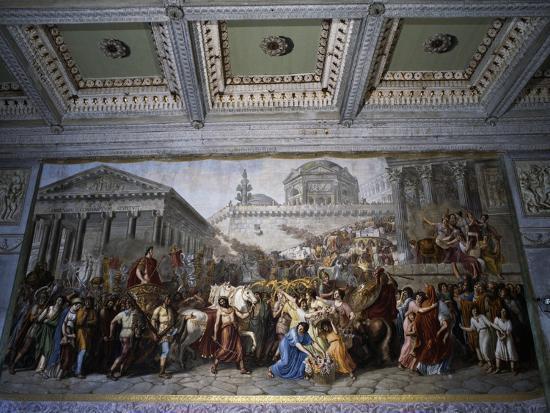 Stories of Emperor Trajan--Giclee Print
