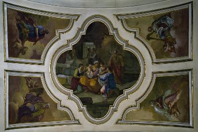 Stories of Jesus Christ, Virgin Mary and Allegorical Figures-Gaetano Gigante-Giclee Print