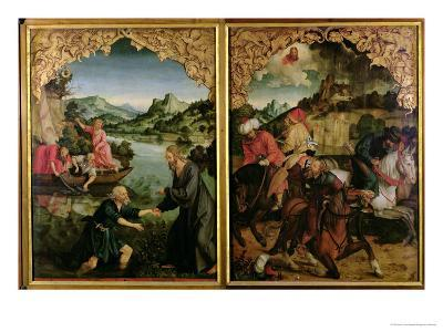 Stories of S.S. Peter and Paul Altarpiece: Vocation of St. Peter, Conversion of St. Paul-Hans Von Kulmbach-Giclee Print