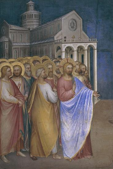 Stories of the New Testament, Detail, Jesus and His Disciples--Giclee Print