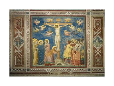 Stories of the Passion the Crucifixion-Giotto di Bondone-Giclee Print
