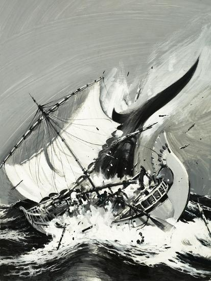 Stories of the Sea: The First Mariners-Graham Coton-Giclee Print