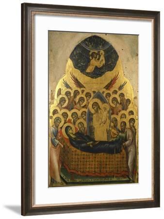 Stories of the Virgin: Dormitio Virginis'--Framed Giclee Print