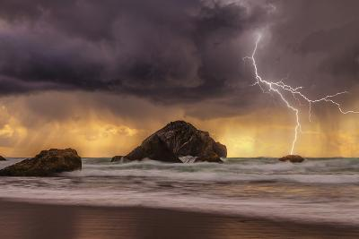 Storm at Face Rock1-Darren White Photography-Photographic Print