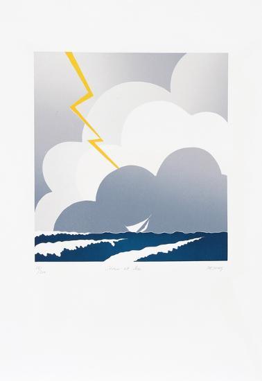 Storm at Sea-Dejong-Collectable Print