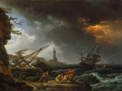 Storm at Sea-Claude Joseph Vernet-Giclee Print