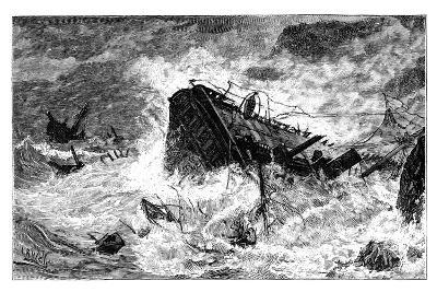 Storm, Balaclava, Ukraine, C1888--Giclee Print