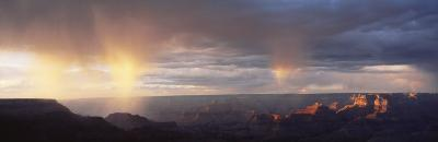 Storm Cloud Over a Landscape, Grand Canyon National Park, Arizona, USA--Photographic Print
