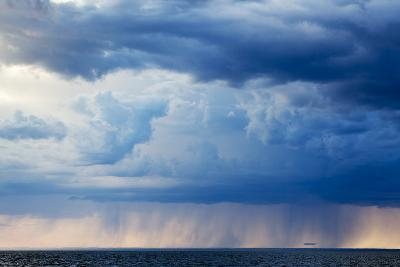 Storm Clouds, Hudson Bay, Canada-Paul Souders-Photographic Print