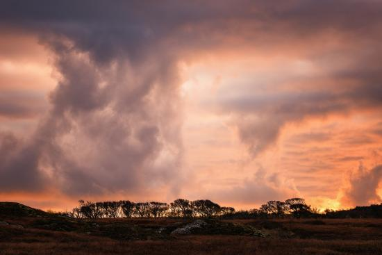 Storm clouds on the Isle of Mull, Inner Hebrides, Scotland, United Kingdom, Europe-Karen Deakin-Photographic Print